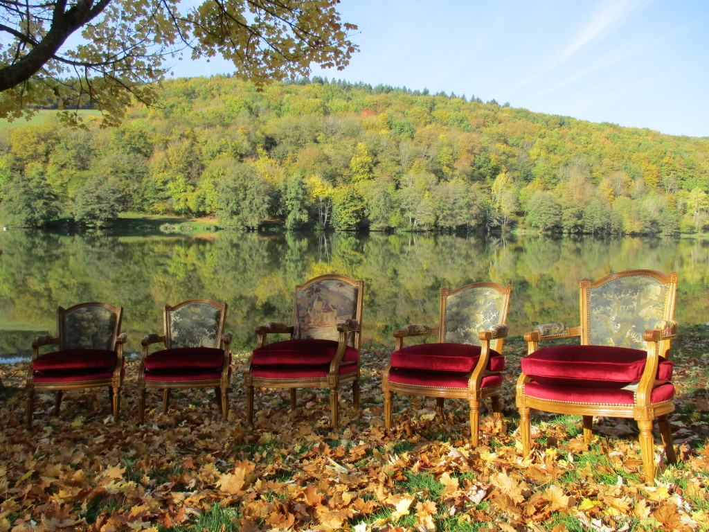 Fauteuils Louis XVI (Lac de Saint Point 71520)