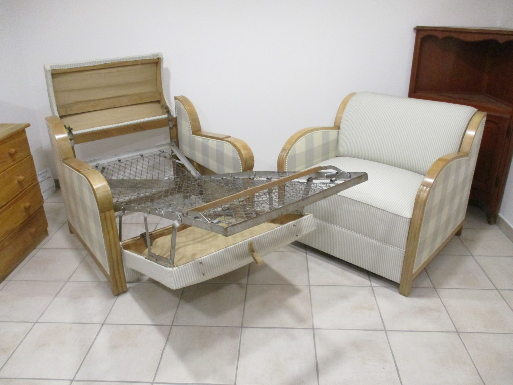 Fauteuils Art Deco (Convetible)