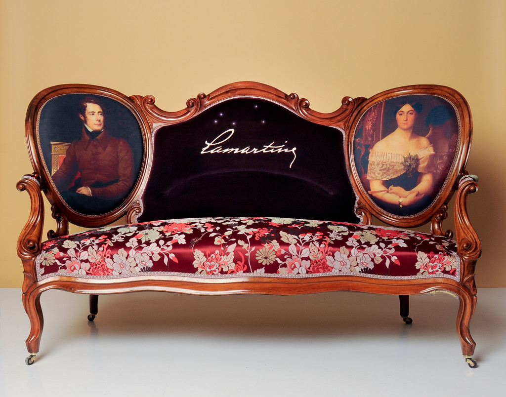 Marianne Elisa De Lamartine et Alphonse De Lamartine