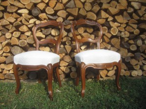 Chaises Louis Philippe
